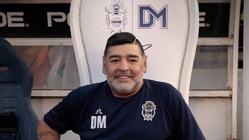 Μαραντόνα - προπονητής