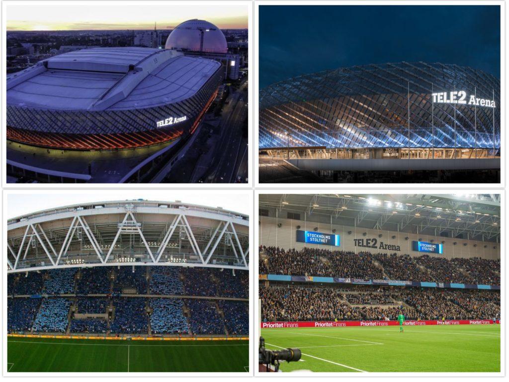 Γιουργκόρντεν - Tele2 Arena