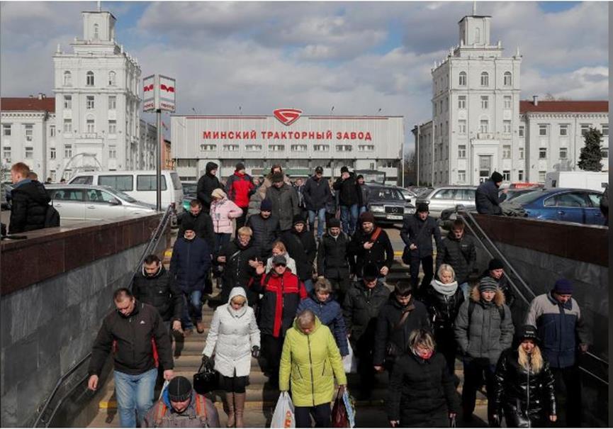 Λευκορωσία - κορονοϊός