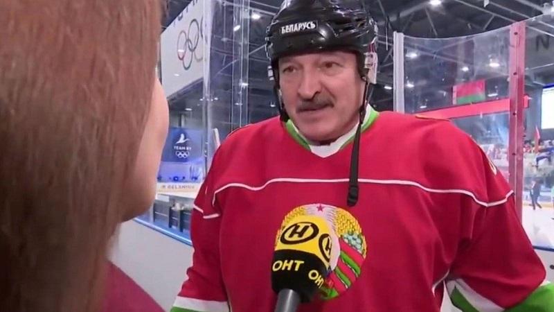 Λουκασένκο - πρόεδρος Λευκορωσίας - χόκεϊ