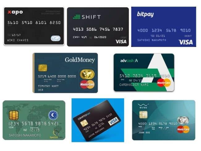 Bitcoin cards - ψηφιακό χρήμα