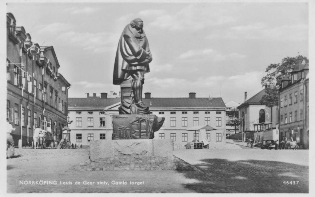 Η παλιά πλατεία στην πόλη Νόρσεπινγκ