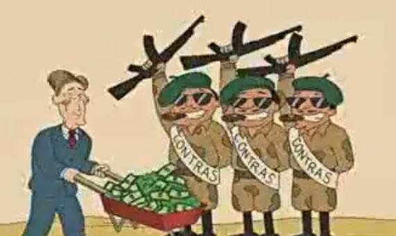 Κόντρας - CIA - Νικαράγουα