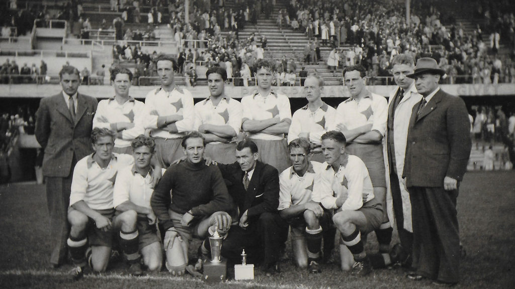 Κύπελλο Σουηδίας 1945 - Νόρσεπινγκ - Μάλμε 4-1