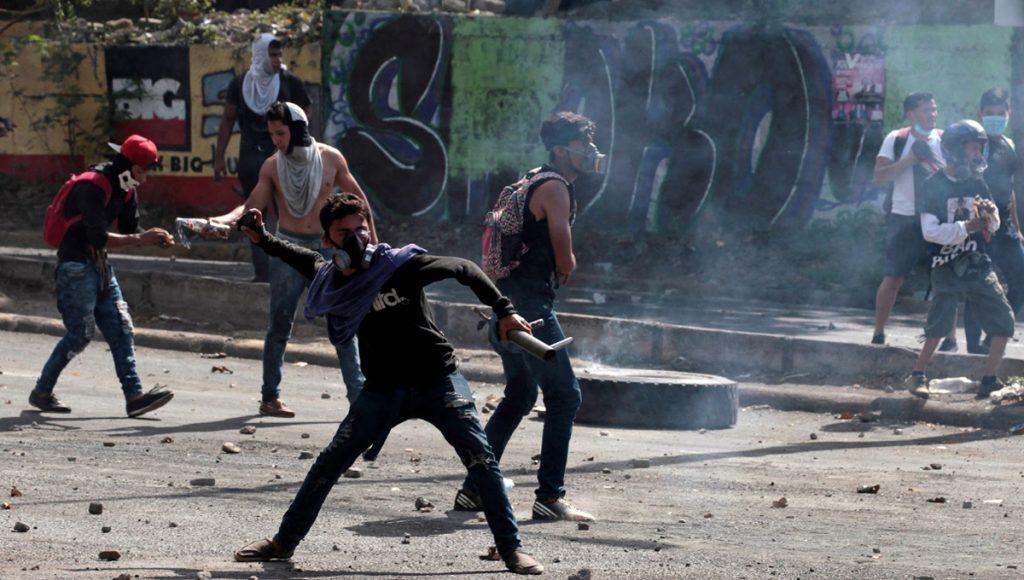 διαδηλώσεις Νικαράγουα - Ορτέγκα