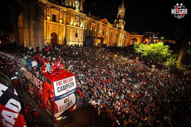 Η Μελγάρ τείνει να γίνει τέταρτη δύναμη στο Περού πίσω από τις τρες γκράντες της Λίμα